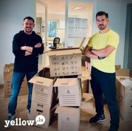 David & Olivier de Yellow Luxembourg