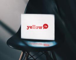 L'ancien logo de Yellow Luxembourg